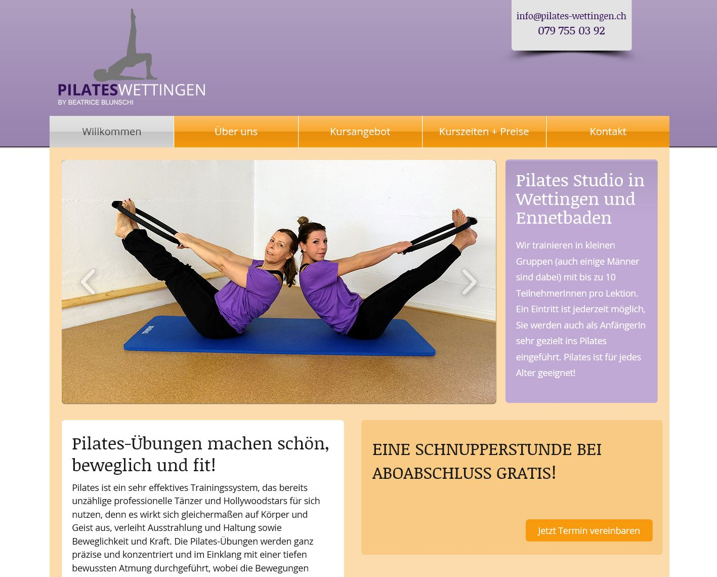 Pilates-Wettingen