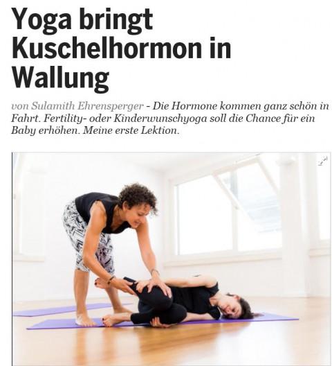 Yoga bringt Kuschelhormon in Wallung